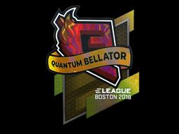 Sticker   Quantum Bellator Fire (Holo)   Boston 2018