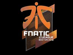 Sticker | Fnatic (Holo) | Boston 2018
