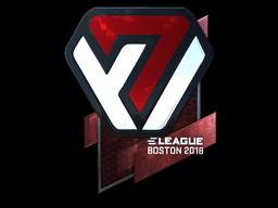Sticker | Avangar (Foil) | Boston 2018
