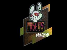Sticker   Misfits Gaming (Holo)   Boston 2018