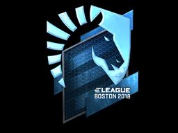 Sticker   Team Liquid (Foil)   Boston 2018