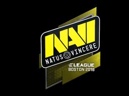 Sticker   Natus Vincere   Boston 2018