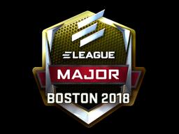 Sticker   ELEAGUE (Foil)   Boston 2018