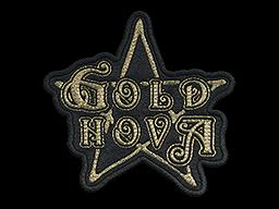 Patch   Metal Gold Nova