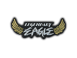 Patch   Metal Legendary Eagle