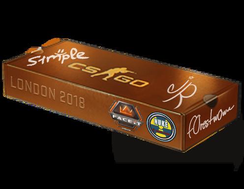 London 2018 Nuke Souvenir Package