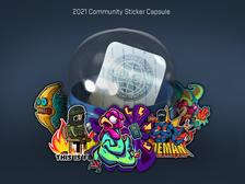2021 Community Stickers